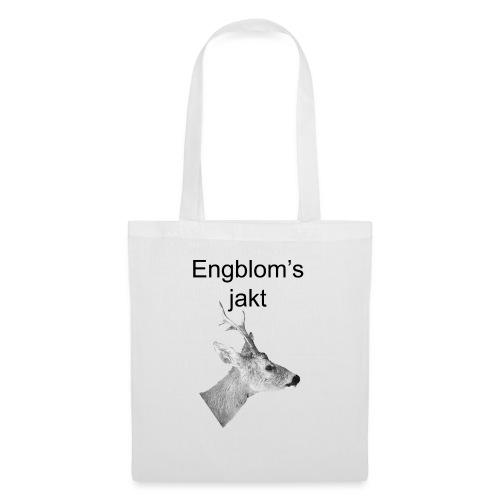 Officiell logo by Engbloms jakt - Tygväska