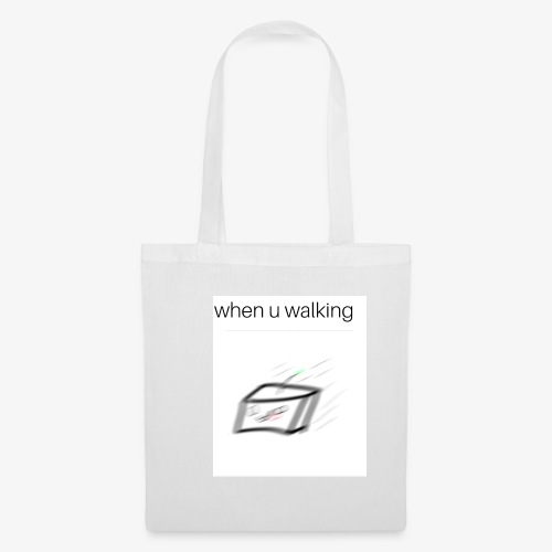 when you walking meme - Tote Bag
