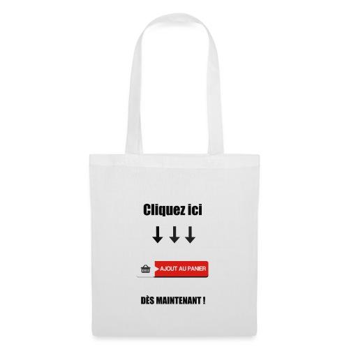 AJOUT AU PANIER - Tote Bag