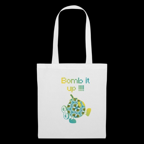 Bomb It Up : Yellow Power !!! - Tote Bag