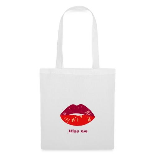 kiss me - Sac en tissu