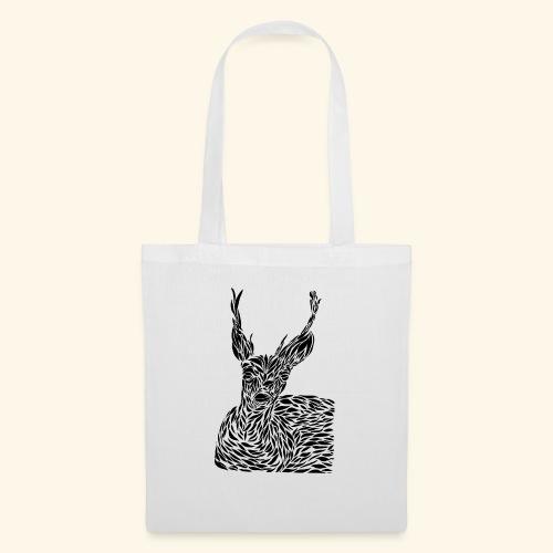 deer black and white - Kangaskassi