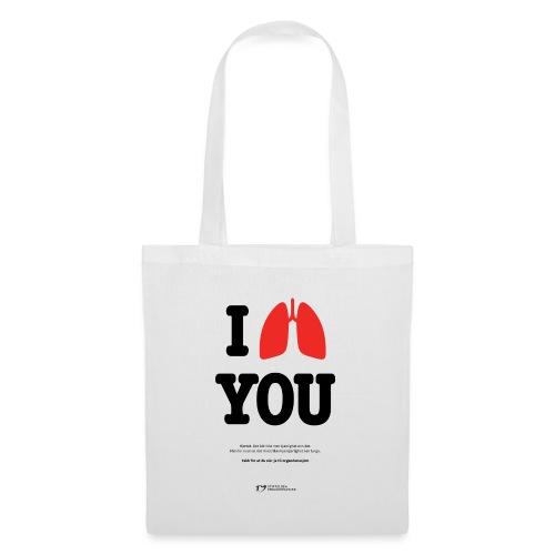 I lung you handlenett - Stoffveske