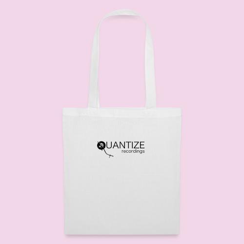 Quantize Black Logo - Tote Bag