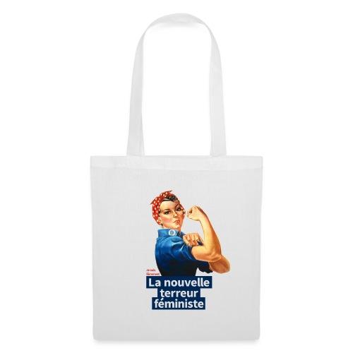 Je suis fièrement La nouvelle terreur féministe - Tote Bag