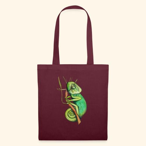 green chameleon - Borsa di stoffa