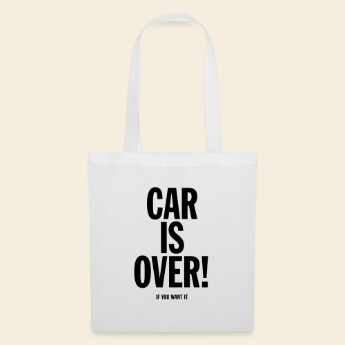 Car is over! - Stoffbeutel