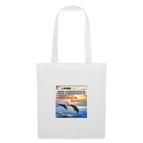 Dolfijn en Laserbanneroldiestationtshirt - Tas van stof