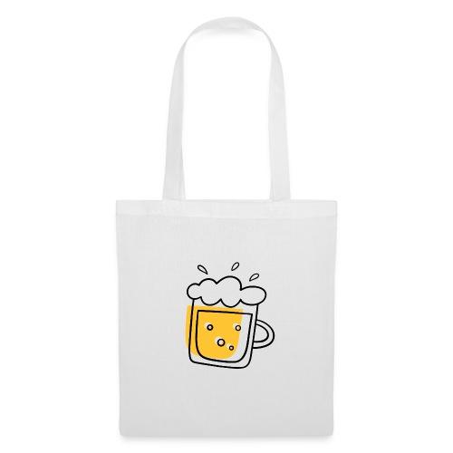 Bierkrug - Stoffbeutel