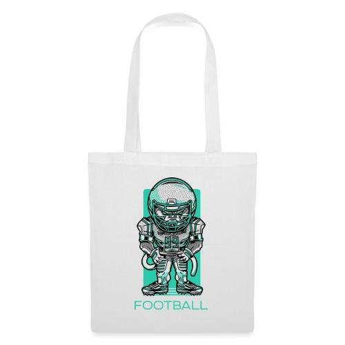funky football - Stoffbeutel