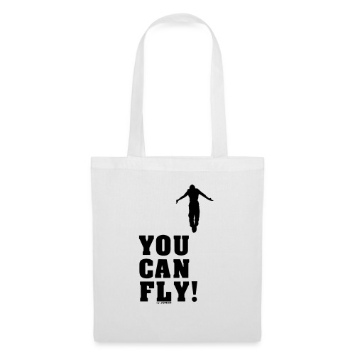 you can fly high BLACK - Bolsa de tela