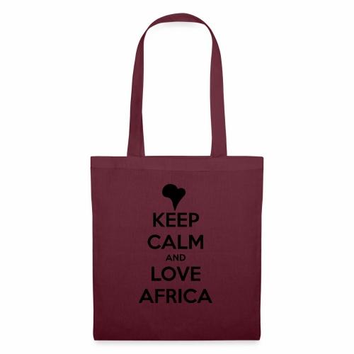 keep calm noir - Tote Bag