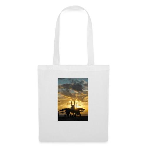 tomcat sunset - Bolsa de tela