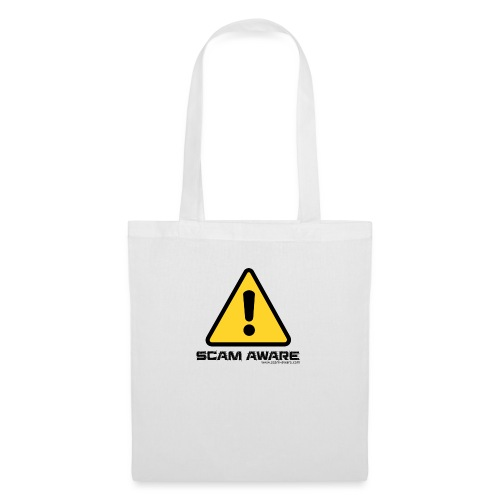 scam-aware.com's line of clothing - Tote Bag