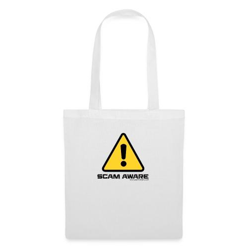 scam-aware.com's line of clothing - Tote Bag
