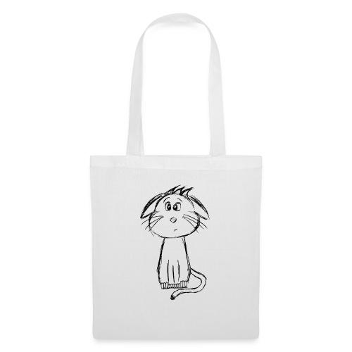 Kissa Kissanpentu musta scribblesirii - Kangaskassi