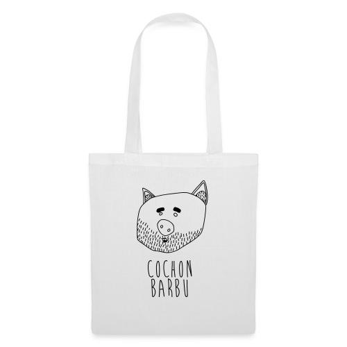 Cochon barbu - Tote Bag