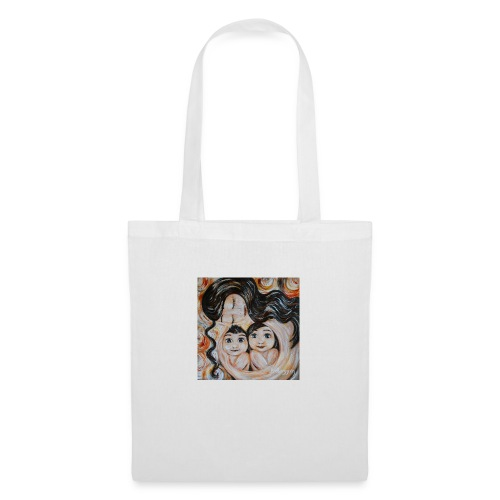 camiseta mujer mama e hijo - Bolsa de tela