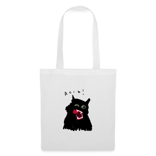 Black Cat - Bolsa de tela