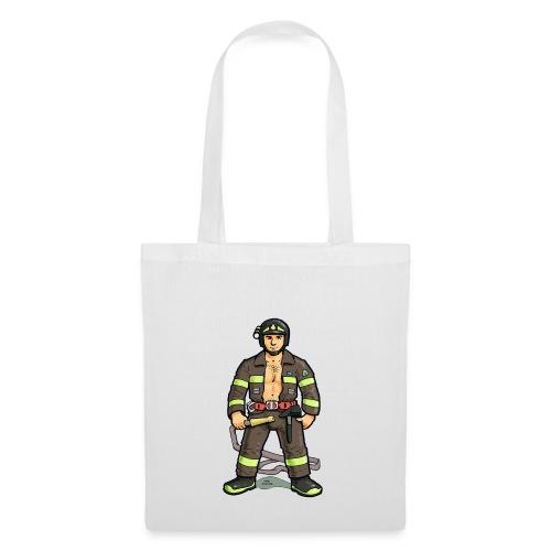 pompiere - Borsa di stoffa