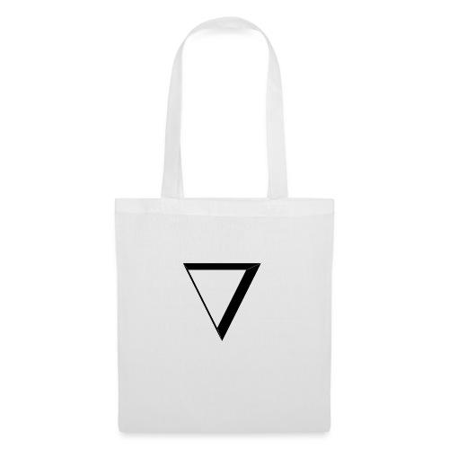 black triangle - Torba materiałowa
