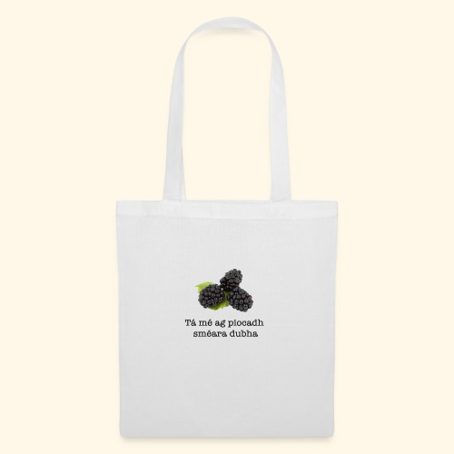 Picking blackberries - Tote Bag