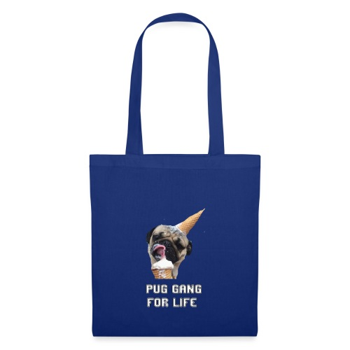 Pug Gang For Life. - Tote Bag