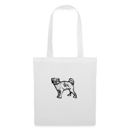 Pug Dog - Tote Bag