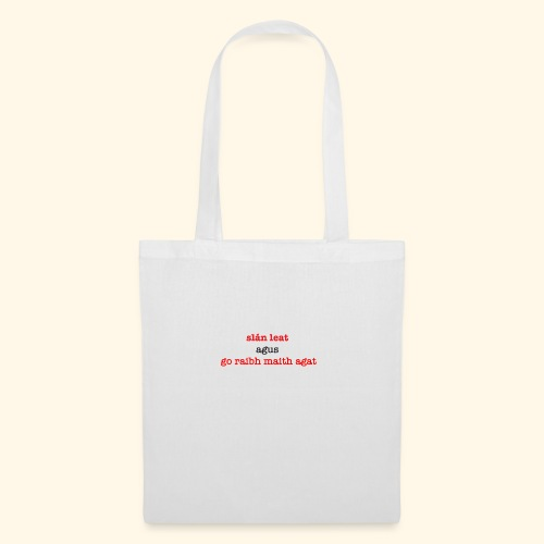 Good bye and thank you - Tote Bag