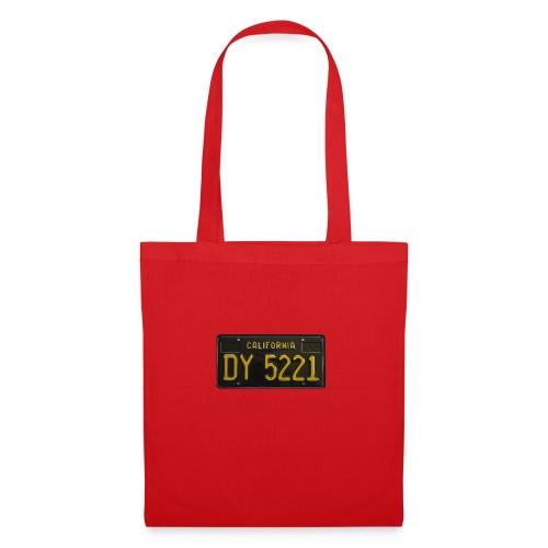 CALIFORNIA BLACK LICENCE PLATE - Tote Bag