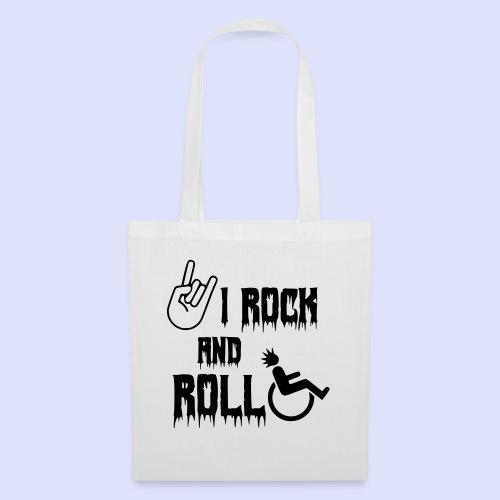 Ik rock en rol in mijn rolstoel - Tas van stof