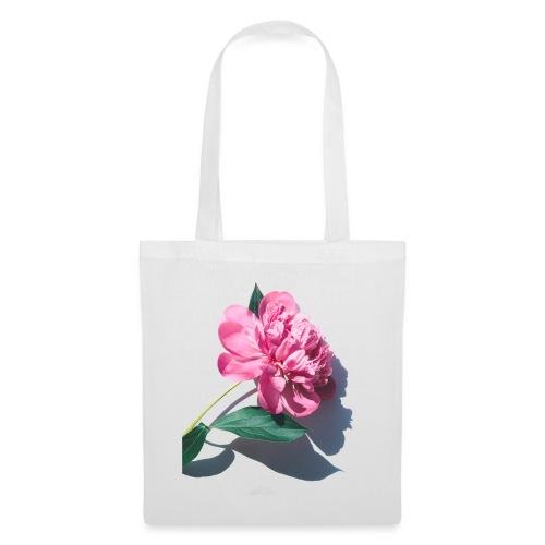 big pink flower - Tas van stof