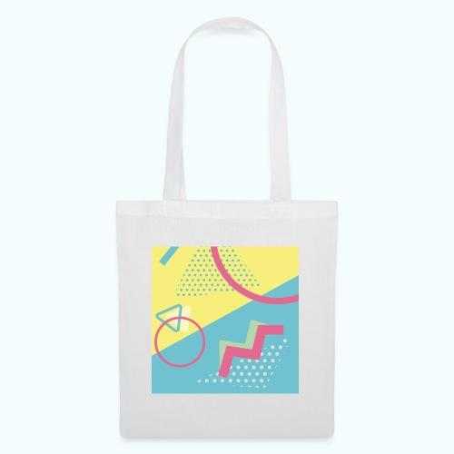 Pastel turquoise geometry - Tote Bag