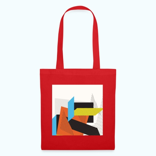 Vintage shapes abstract - Tote Bag