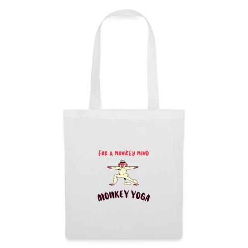 MONKEY YOGA - Bolsa de tela