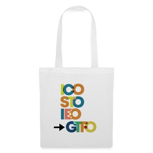 ICO, STO, IEO: -> GTFO - Stoffbeutel