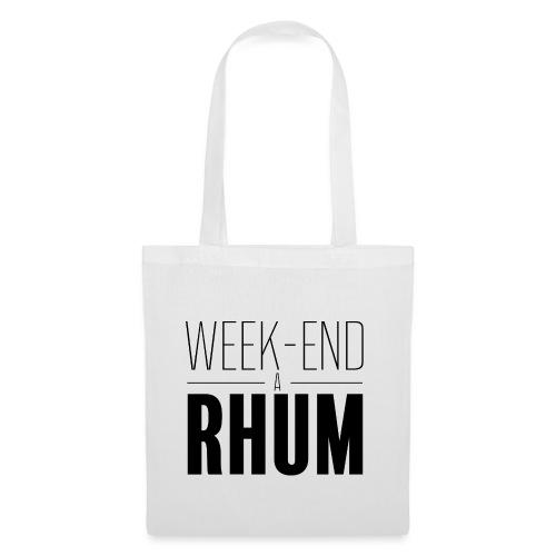 Week-end à rhum - Tote Bag