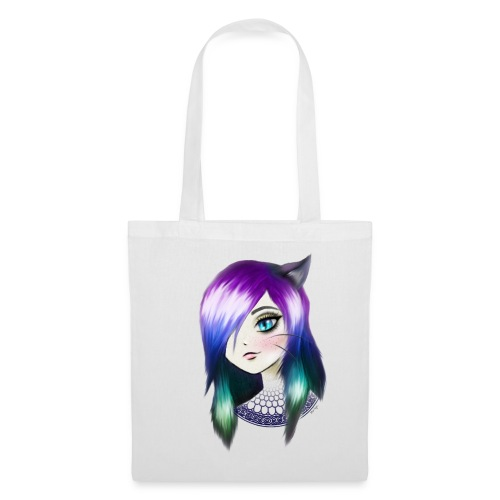 manga neko girl - Tote Bag