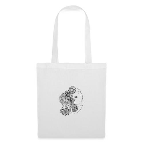 Mandala de Elefante - Bolsa de tela