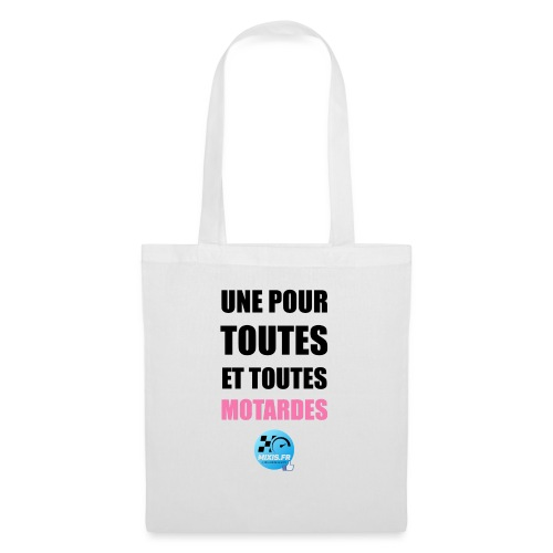 Mixis.fr - Une Pour Toutes Et Toutes Motardes... - Sac en tissu
