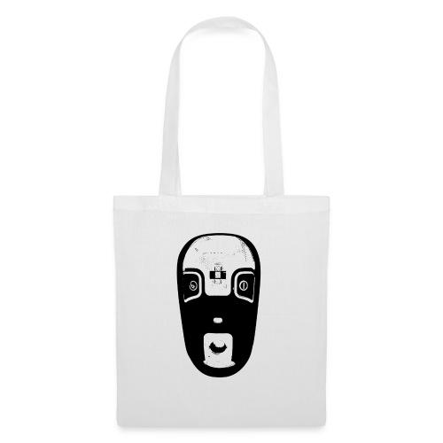 tribal mask - Sac en tissu