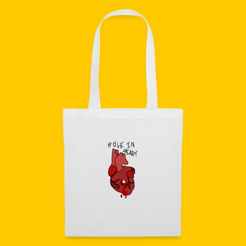 Hole.. Heart. - Tote Bag