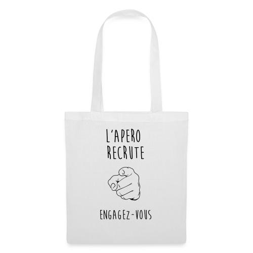 L'Apéro Recrute, Engagez-vous - Tote Bag