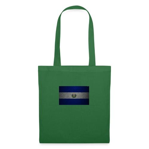 thumb2 flag of el salvador 4k leather texture nort - Bolsa de tela