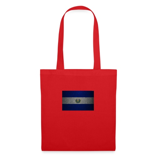thumb2 flag of el salvador 4k leather texture nort - Bolsa de tela