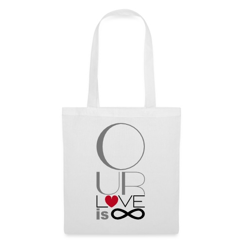 Our Love is Infinite - Tote Bag