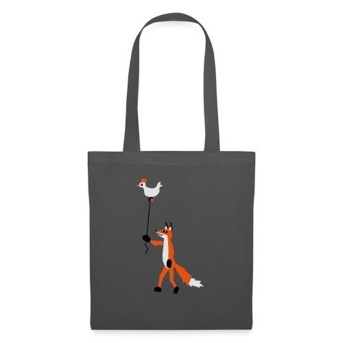Fuchs und Henne - Stoffbeutel