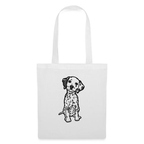 Dalmatian Grey Spots - Tote Bag