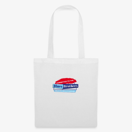 Official Committed to the Blues Logo - Tote Bag