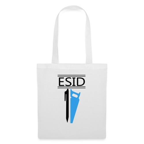 ESID Zwart-blauw - Tas van stof